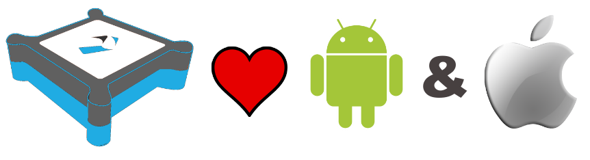 Tecla loves Android and iOS